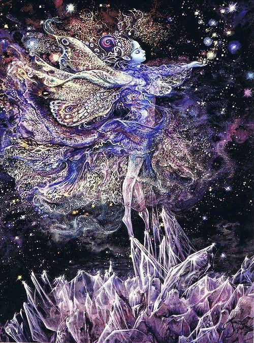 Josephine Wall - Crystal Fairy