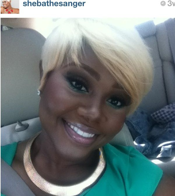 55 Best Platinum Short Hair Black Girls Images On