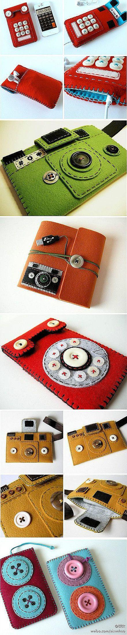 Cute cell phone cases! 手机套-嘀咕网 - 收集高清唯美图片视频,分享你所爱,结识心朋友