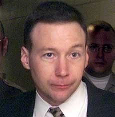 david camm - David Camm is a former Indiana State Trooper convicted in a series of controversial trials of the murders of son Brad, seven, daughter Jill, five, and wife Kim in their Georgetown, Indiana home on Thursday, September 28, 2000. =another scum bag