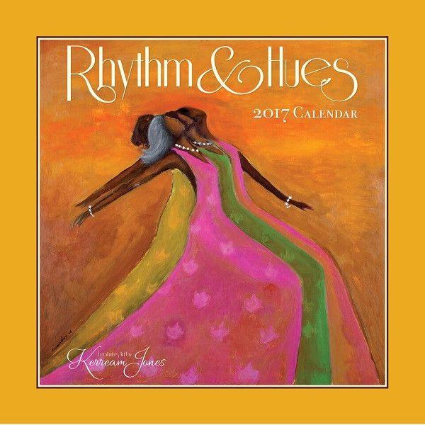 Rhythm & Hues Kerream Jones 2017 African American Calendar