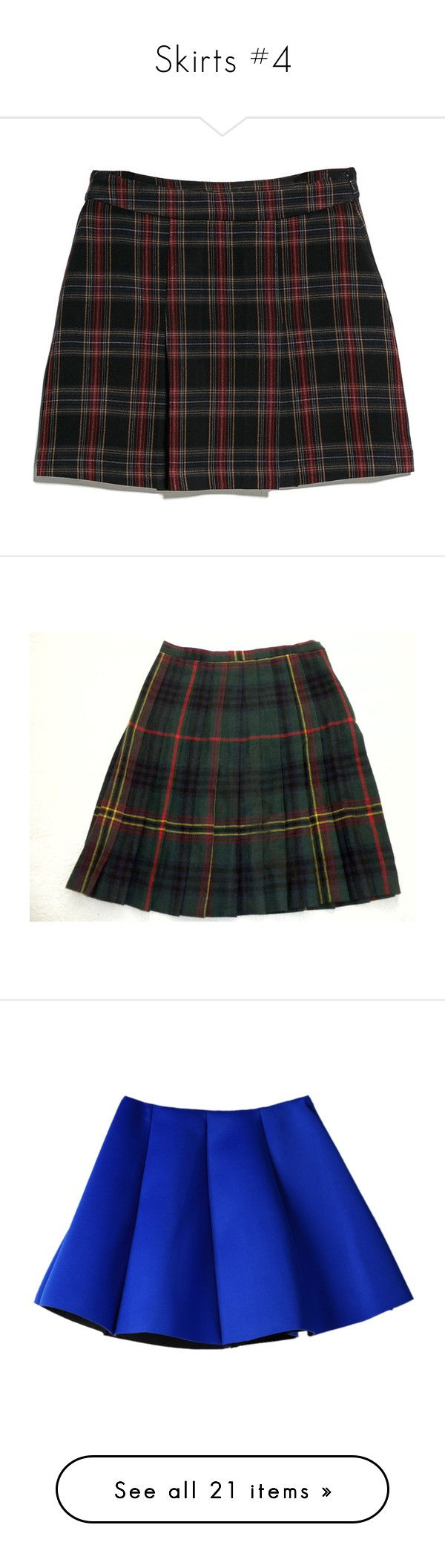 """""""Skirts #4"""" by aaronhainsley ❤ liked on Polyvore featuring skirts, mini skirts, bottoms, plaid, yellow, brown mini skirt, yellow tartan skirt, yellow plaid skirt, forever 21 skirts and brown skirt"""