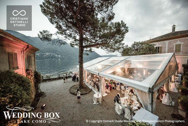 Glamorous Wedding Reception at Villa Pizzo!
