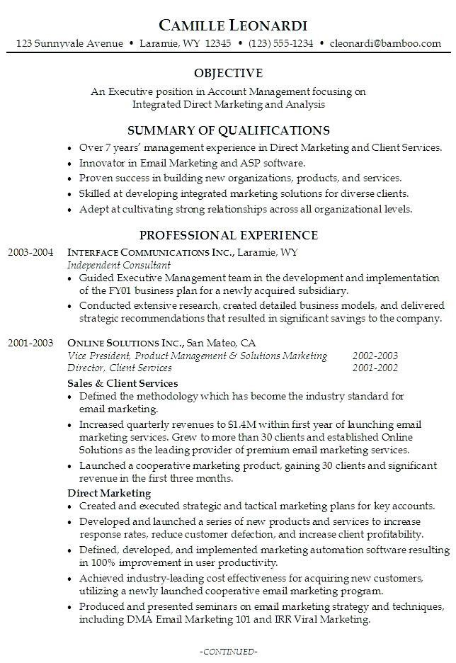 40 Resume Career Summary Examples Es3z Di 2020
