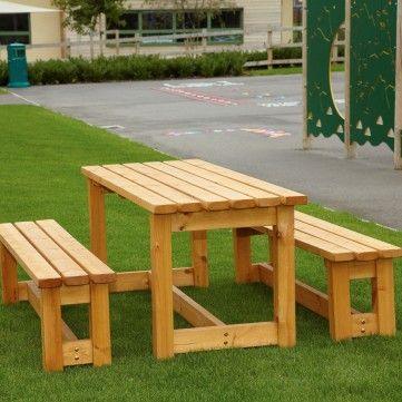 Arbour Bench and Table
