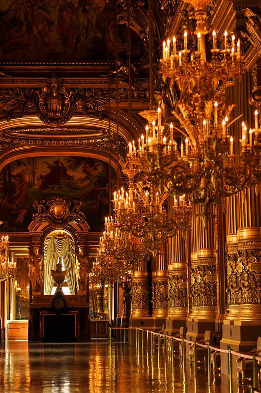 Opéra Garnier - Paris, Ile-de-France**.