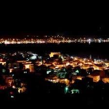 Bildergebnis für Ayvalıktan gece manzarası