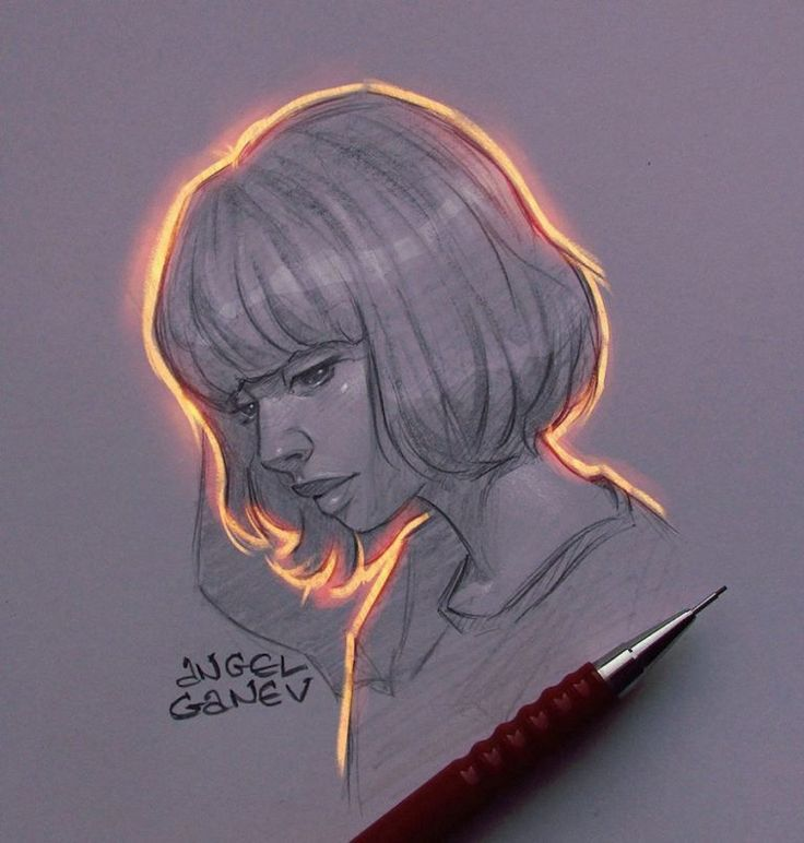 This illustrator creates extraordinary lighting effects on his drawings