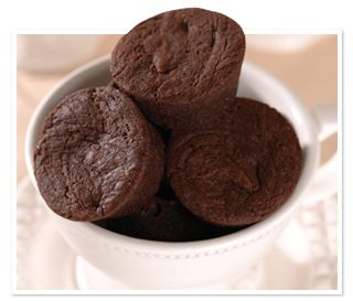 Sugar Bowl Bakery Petite Brownie Bites - In the mood for #chocolate?  Gobble up one of our Petite Brownie Bites, little bite-sized pieces of chocolate heaven, right out of the box or warmed up.  Even better, savor one with a tall glass of cold milk or a bowl of creamy vanilla ice cream.