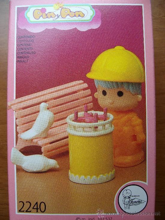 PIN Y PON DE FAMOSA PINYPON REF 2240 (Juguetes - Muñeca Española Moderna - Lesly, Barriguitas y Otras Muñecas de Famosa)