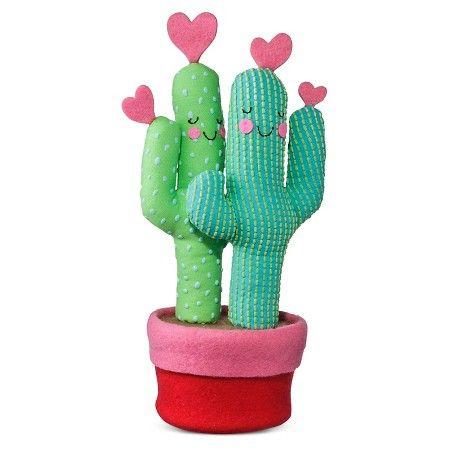 Valentine's Day Plush Cactus - Spritz™ : Target