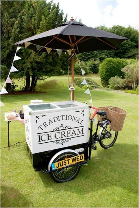 Wedding Philippines - 23 Cool Ways to Serve Ice Cream at Your Wedding Bar Buffet Food Cart (5)