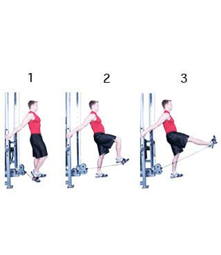 leg exercises with cable machine