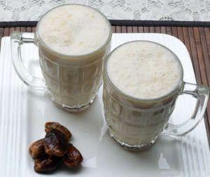 dates milkshake recipe, dry dates milkshake recipe, easy dates milkshake recipe, quick dates milkshake recipe, homemade dates milkshake recipe