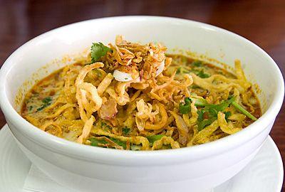 Recette cuisine thaie, le Khao Soi