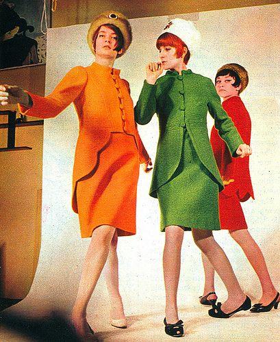 USSR. Fashion. 1960s.