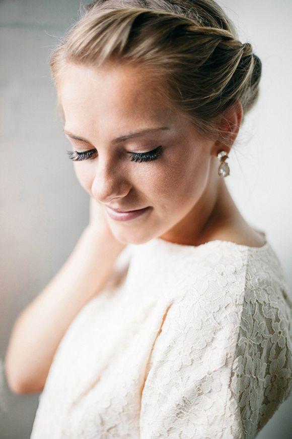 Gorgeous side braid and makeup   Shannon Elizabeth