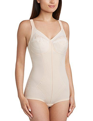 Playtex Women's I Can't Believe It's a Girdle All in One Plain Shaping Bodysuit