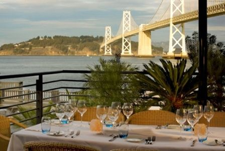 Waterbar is located on the South end of Rincon Park on San Francisco's scenic Embarcadero. If you're looking for a San Francisco restaurant with a view, Waterbar features panoramic views of the Bay and San Francisco skyline.