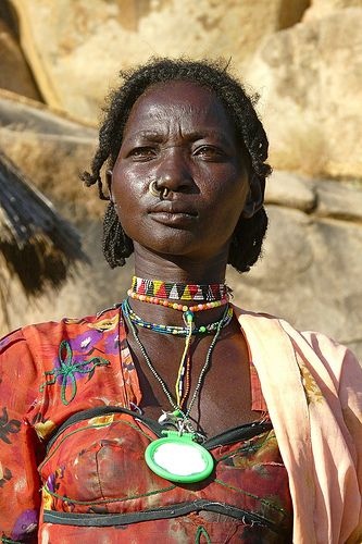Nuba , Sudan by Rita Willaert via flickr