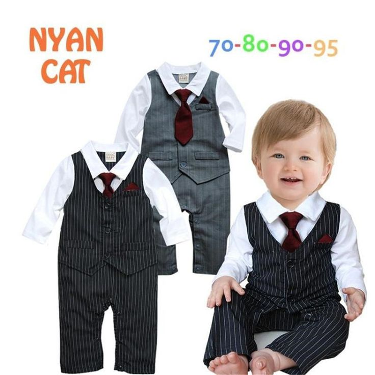 Wholesale 4pcs/lot Infant Toddler Baby Boy's Formal Wear Tuxedo Rompers,bow tie baby clothing boy infant wear free shippingNO.67