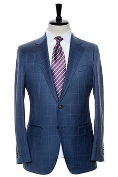 For Bold Blue Windowpane- Slim Fit and Contemporary Fit custom suits visit Spier & Mackay. We offer good quality custom made suits. Visit us today at: http://www.spierandmackay.com/men-suits.php