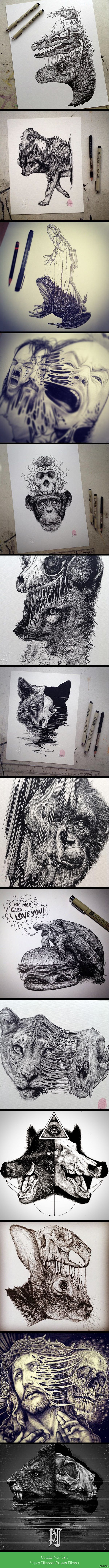 Анатомические ужасы От художника Пола Джексона