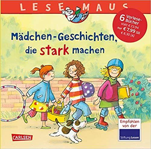 LESEMAUS Sonderbände: Mädchen-Geschichten, die stark