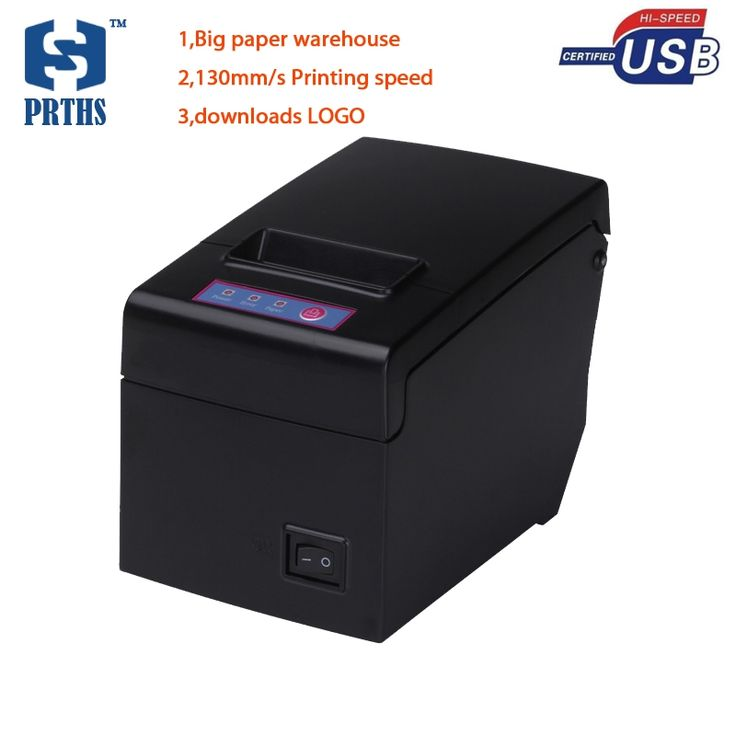 46.80$  Buy here - http://aliekv.shopchina.info/go.php?t=32798293240 - High speed 58mm USB thermal printer support 83mm big diameter paper roll impresora termica receipt printer machine HS-E58U 46.80$ #buyininternet