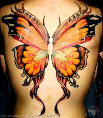 good tattoo - Iskanje Google   Realistic butterfly tattoo ...   Seductive Butterfly Tattoos