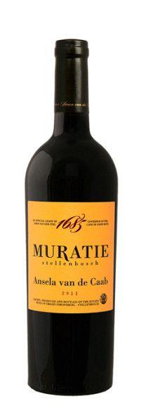 Ansela van de Caab - Annatjie's choice of Red wine :-) https://www.facebook.com/muratiewine.  http://www.muratie.co.za/wines/our-iconic-wines/ansela-van-de-caab/?id=40