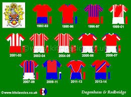 Dagenham kits since we were founded in '92.