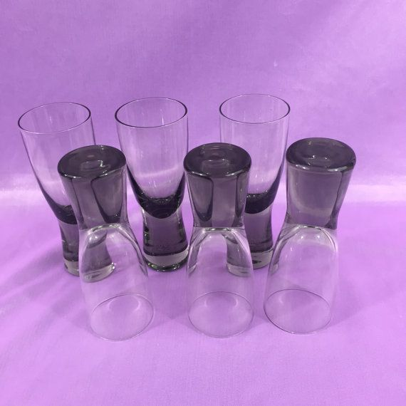 Fabulous vintage glasses by Per Lutken for by kuladotlondon