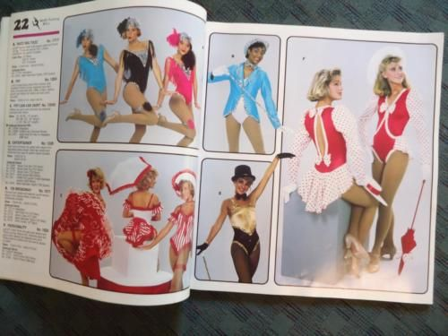 Vtg-1988-1980s-Wolff-Fording-Dance-Costume-Catalog-Pictures-Ballet-Jazz-Leotard