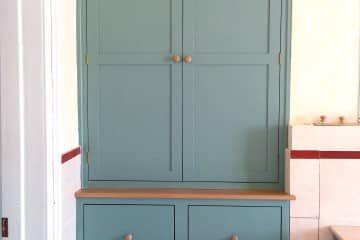 Handmade kitchen units