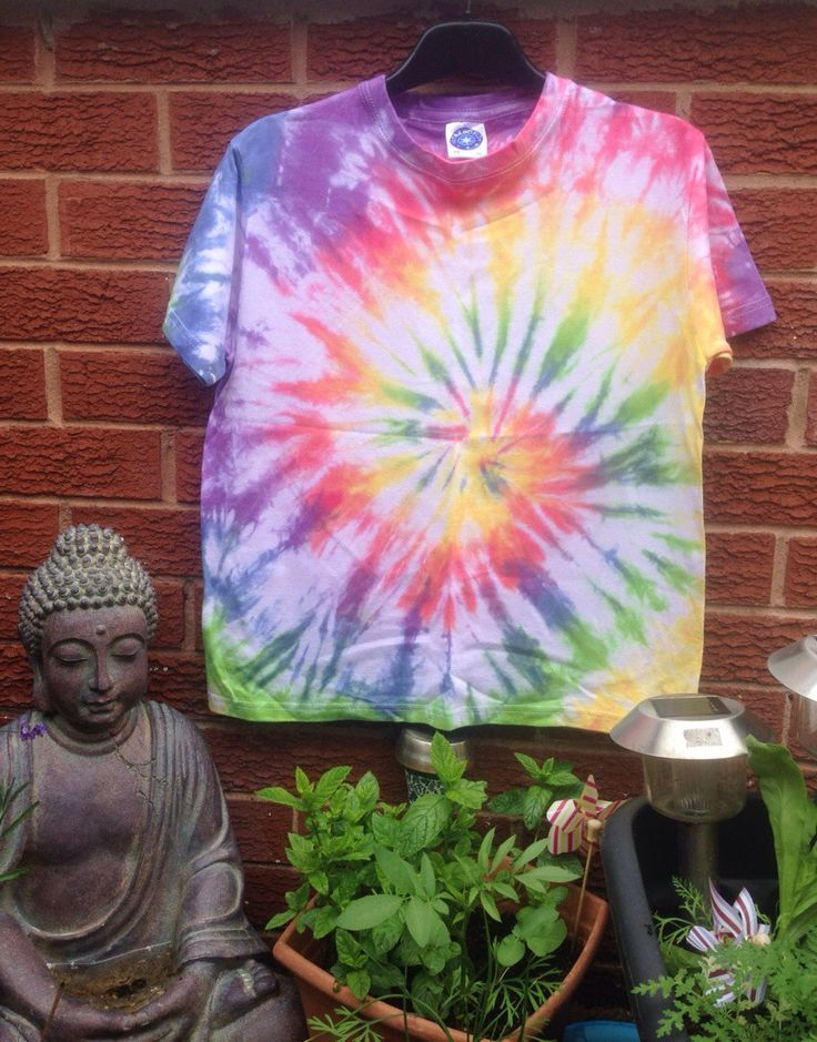 TIE DYE   Rainbow T  Fairtrade  Age 11/12 by TheCraftyPixiesStore, £10.00