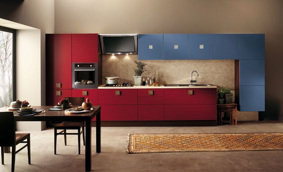 I just fall in love of Scavolini. Let's talk about art in the kitchen.