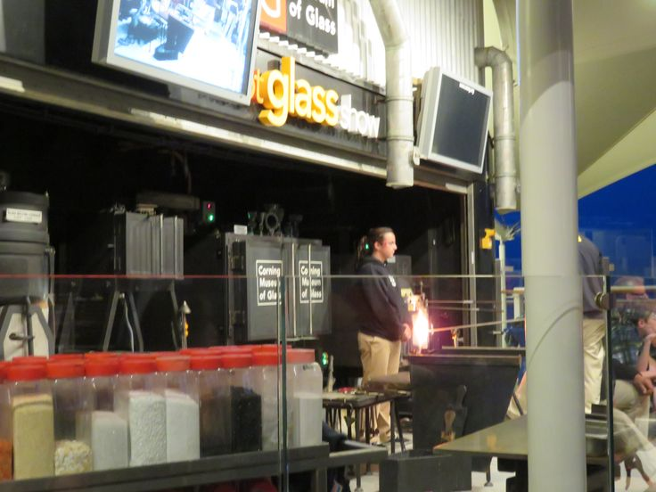 Celebrity Cruises - Aboard Celebrity Eclipse - Glass blowing demonstration on top deck