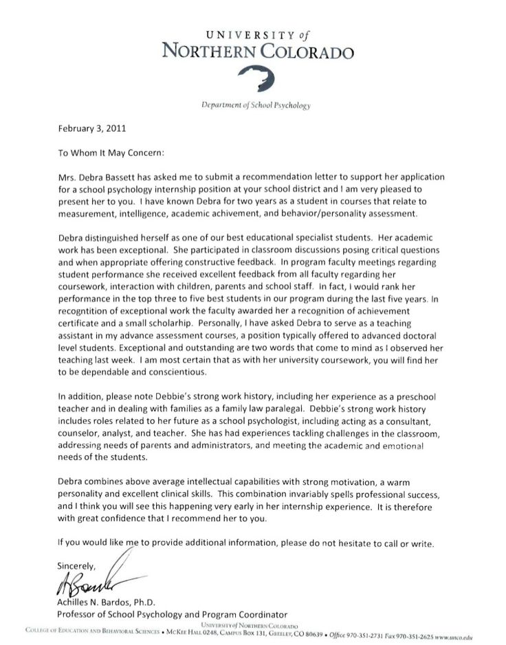 Image result for letters of recommendation for massage therapy - letter of recommendation templates