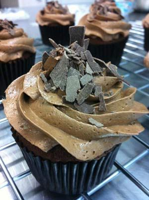 Chocolate Chocolate #perfection #cupcakes #shopinivanhoe #180ccupcakes