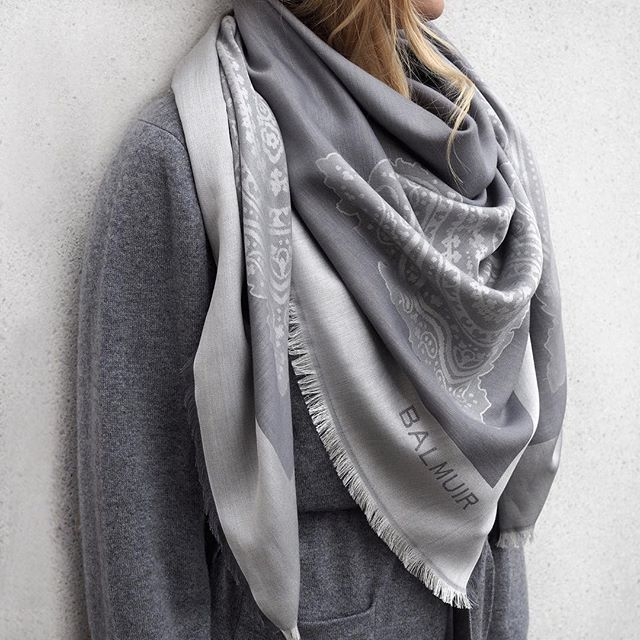 Something exciting is happening. Capri scarf has arrived into our web store! Capri is made from silk and cotton and  it is a perfect summer scarf. #Balmuir #silkscarf #squarescarf #BalmuirScarf