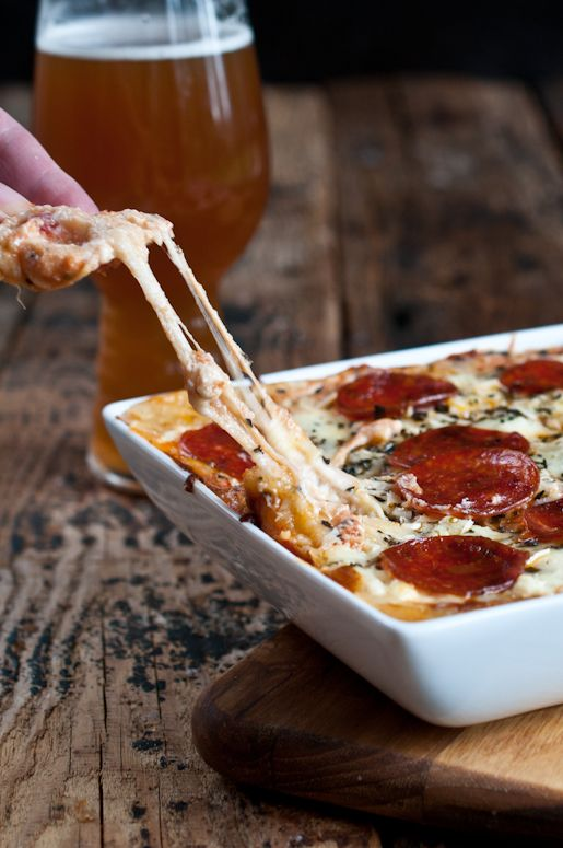Beer Cheese Pizza Dip: Pizza and Beer, in One Dip