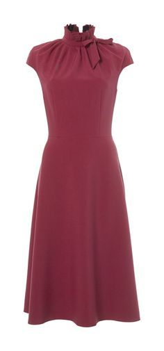 Classy Fit Flare work dress for pear body shape DORA DRESS PEAR available at www.inna-store.com