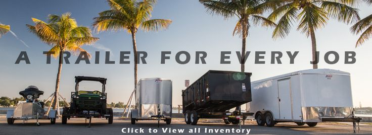 We provide best pace cargo trailer including its parts and accessories in the Florida Keys. Our highly knowledgeable staff provides valuable experience about the high quality trailer.