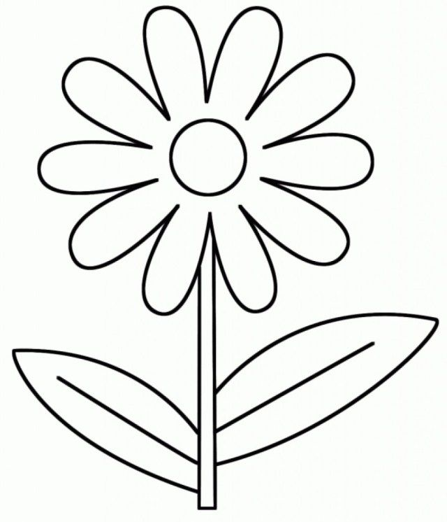 Exclusive Image Of Coloring Pages For 3 Year Olds - Entitlementtrap.com  Printable Flower Coloring Pages, Spring Coloring Pages, Flower Coloring  Pages