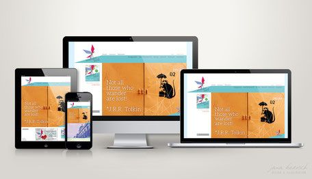 """Responsiv Webdesign für """"wanderbird""""  - ein Städtereisemagazin abseits der Massen"""