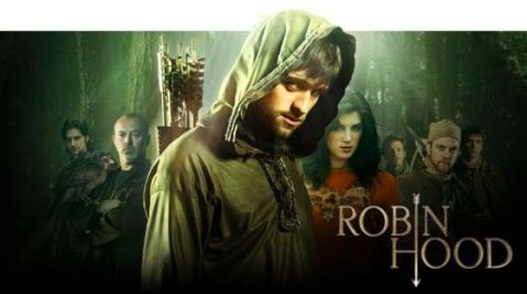 Robin Hood --bbc series I recently got sucked into. The first episode was so cheesy but it got better and I was hooked in no time :)