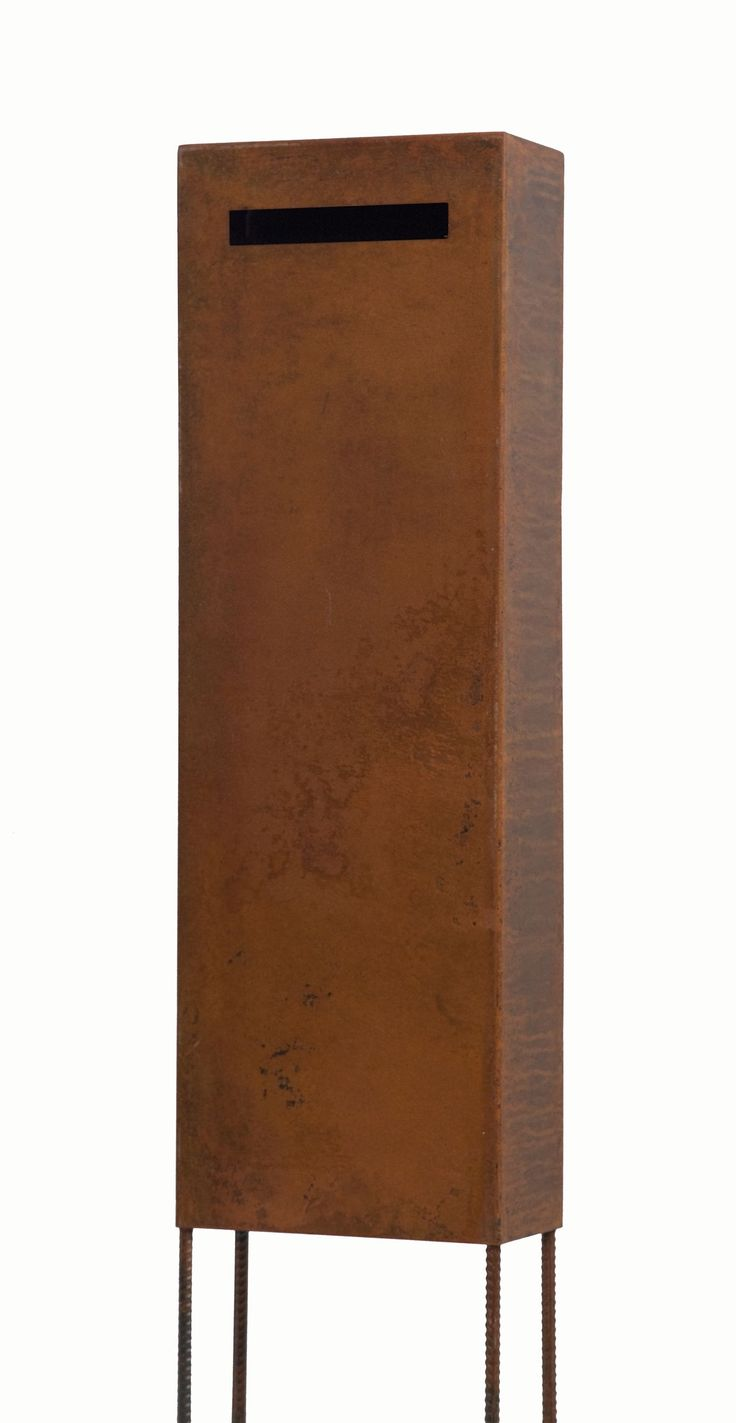 Original Ned Kelly rust letterbox by www.entanglements.com.au