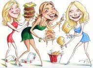 For Actresses, Is a Big Appetite Part of the Show? - as featured in my latest blog at http://iwasahighschoolfeminist.com/2013/12/27/celebrities-and-food-why-do-we-care/