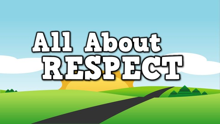 ALL ABOUT RESPECT!  (song for kids about showing respect)